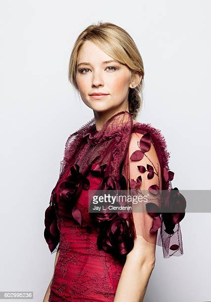Actress Haley Bennett of 'The Magnificent Seven' poses for a portraits at the Toronto International Film Festival for Los Angeles Times on September...