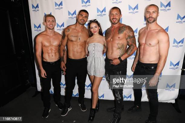 Actress Haley Pullos attends Magic Men Live In Hollywood event at Avalon on August 17 2019 in Hollywood California