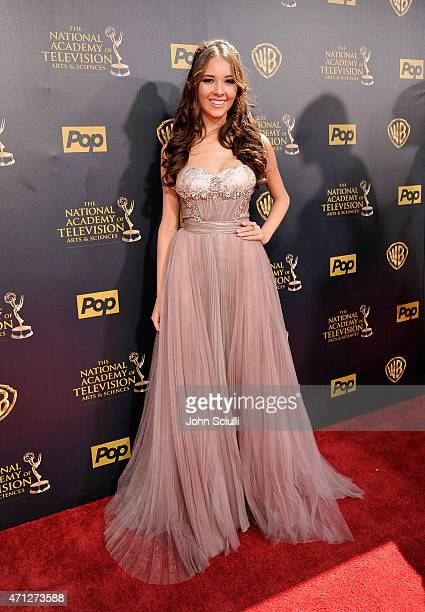 Actress Haley Pullos attends The 42nd Annual Daytime Emmy Awards at Warner Bros Studios on April 26 2015 in Burbank California