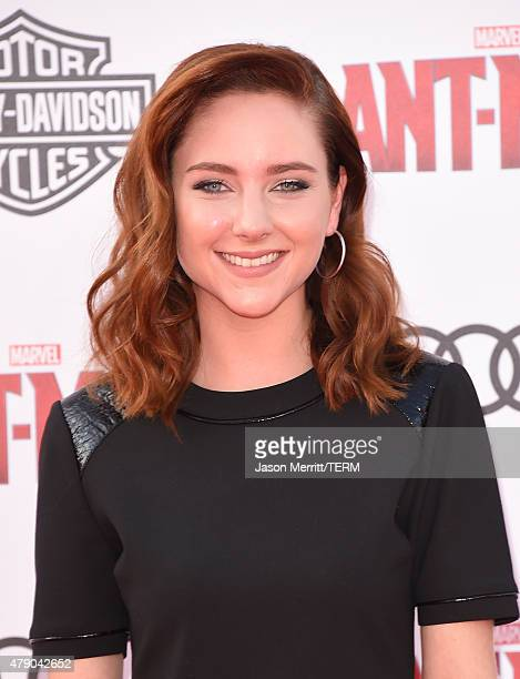 Actress Haley Ramm arrives at the Los Angeles Premiere of Marvel Studios 'AntMan' at Dolby Theatre on June 29 2015 in Hollywood California