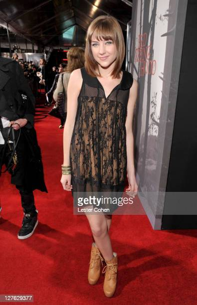 Actress Haley Ramm arrives at the 'Red Riding Hood' Los Angeles premiere held at Grauman's Chinese Theatre on March 7 2011 in Hollywood California