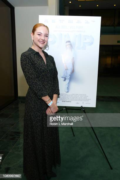 Actress Haley Ramm attends NAACP Image Awards Screening of 'PIMP' on December 17 2018 in Los Angeles California