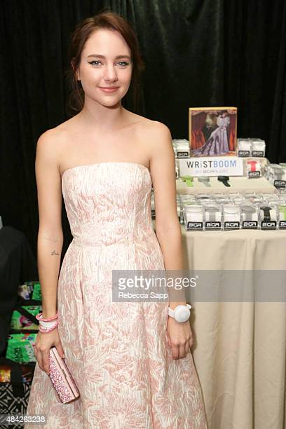Actress Haley Ramm attends the Backstage Creations retreat at Teen Choice 2015 at the Galen Center on August 16 2015 in Los Angeles California