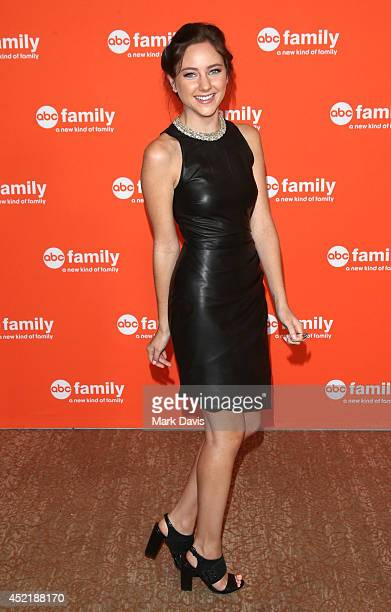 Actress Haley Ramm attends the Disney ABC Television Group's TCA Summer Press Tour on July 15 2014 in Beverly Hills California