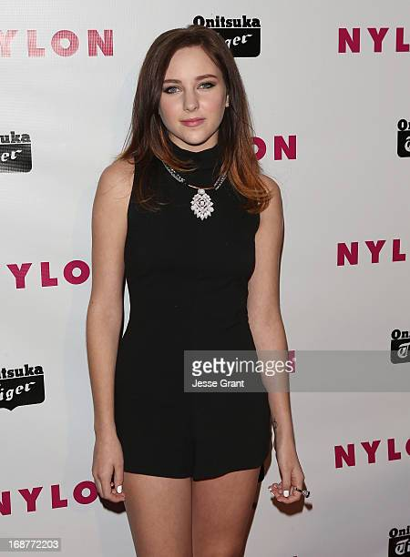 Actress Haley Ramm attends the NYLON Magazine Annual May Young Hollywood Issue Party at The Roosevelt Hotel on May 14 2013 in Hollywood California