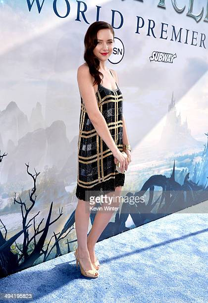 Actress Haley Ramm attends the World Premiere of Disney's 'Maleficent' at the El Capitan Theatre on May 28 2014 in Hollywood California