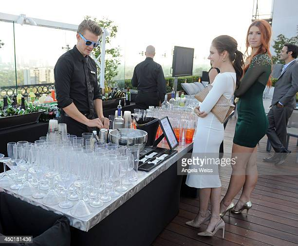 Actress Haley Ramm attends TheWrap's First Annual Emmy Party Inside at The London West Hollywood on June 5 2014 in West Hollywood California
