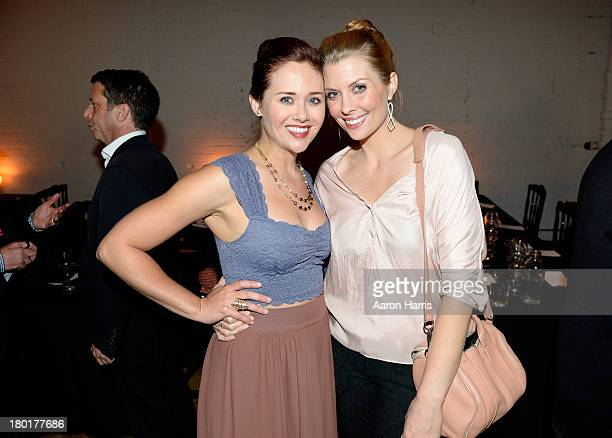 Actress Haley Strode and guest attend the Creative Coalition VIP Dinner during the 2013 Toronto International Film Festival held at Storys Building...