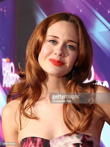 Actress Haley Strode arrives at Nickelodeon's 2012 TeenNick HALO Awards at Hollywood Palladium on November 17, 2012 in Hollywood, California. The...