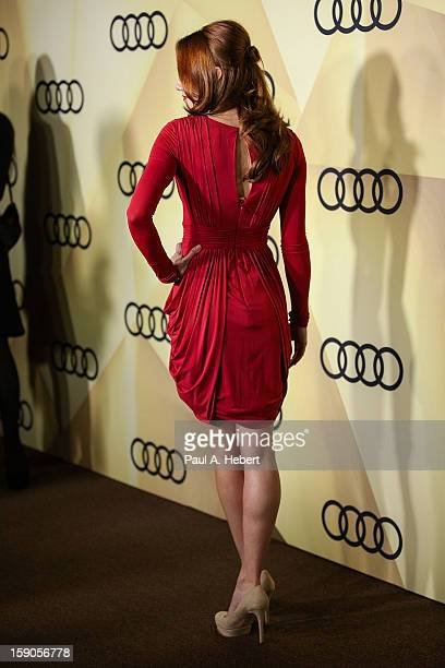 Actress Haley Strode arrives at the Audi Golden Globe 2013 Kick Off Party at Cecconi's Restaurant on January 6, 2013 in Los Angeles, California.