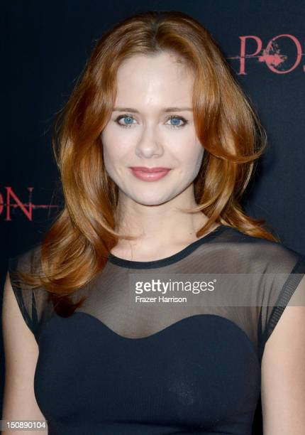 Actress Haley Strode arrives at the premiere of Lionsgate Films' The Possession at ArcLight Cinemas on August 28 2012 in Hollywood California