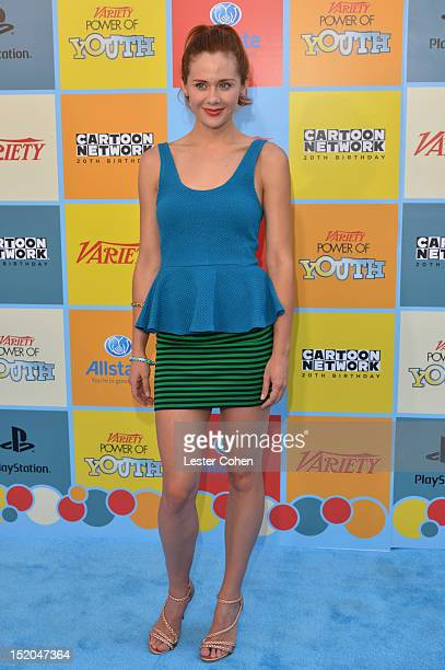 Actress Haley Strode arrives at Variety's Power of Youth presented by Cartoon Network held at Paramount Studios on September 15, 2012 in Hollywood,...