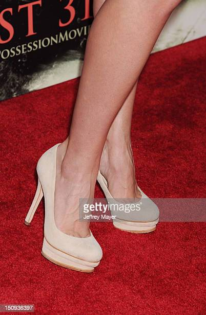 Actress Haley Strode at the 'The Possession' Los Angeles Premiere at ArcLight Cinemas on August 28 2012 in Hollywood California