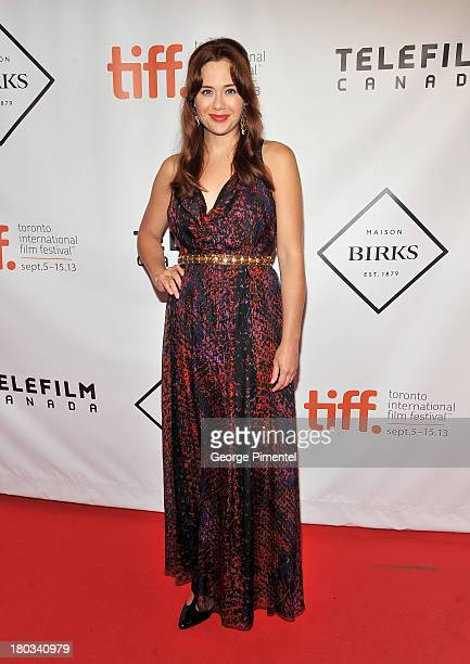 Actress Haley Strode attends the Birks Diamond Tribute to the year's Women in Film during the 2013 Toronto International Film Festival at on...