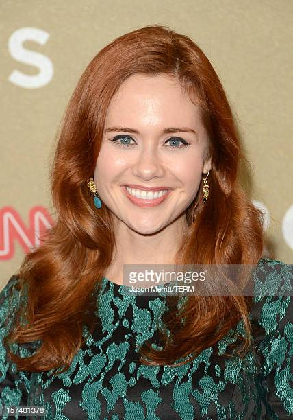 Actress Haley Strode attends the CNN Heroes: An All Star Tribute at The Shrine Auditorium on December 2, 2012 in Los Angeles, California....