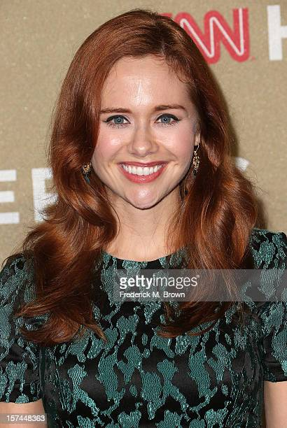 Actress Haley Strode attends the CNN Heroes: An All Star Tribute at The Shrine Auditorium on December 2, 2012 in Los Angeles, California.