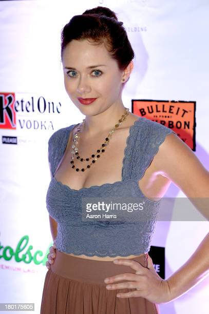 Actress Haley Strode attends the Creative Coalition VIP Dinner during the 2013 Toronto International Film Festival held at Storys Building on...