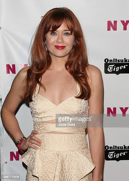 Actress Haley Strode attends the NYLON Magazine Annual May Young Hollywood Issue Party at The Roosevelt Hotel on May 14 2013 in Hollywood California