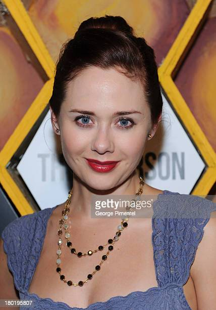 Actress Haley Strode attends the 'Third Person' presented by Nespresso at Live at The Hive during the 2013 Toronto International Film Festival on...