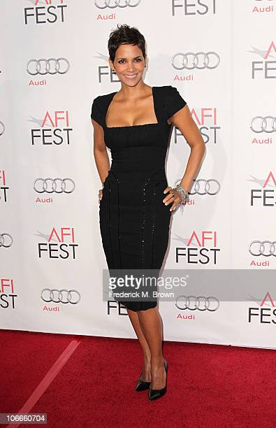 """Actress Halle Berry arrives at """"On Acting"""" A Conversation With Halle Berry during AFI FEST 2010 presented by Audi held at Grauman's Chinese Theatre..."""