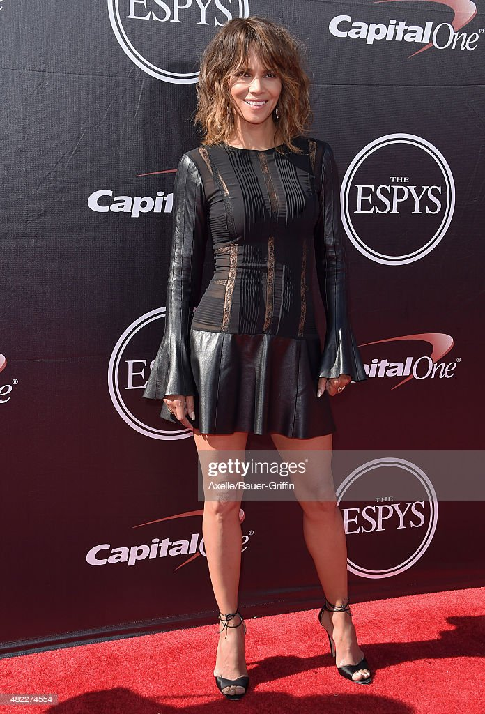 Actress Halle Berry arrives at The 2015 ESPYS at Microsoft Theater on July 15, 2015 in Los Angeles, California.