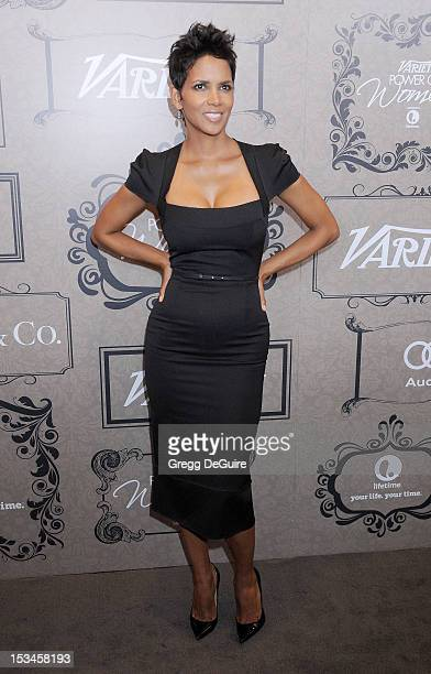 Actress Halle Berry arrives at Variety's 4th Annual Power Of Women event at the Beverly Wilshire Four Seasons Hotel on October 5 2012 in Beverly...