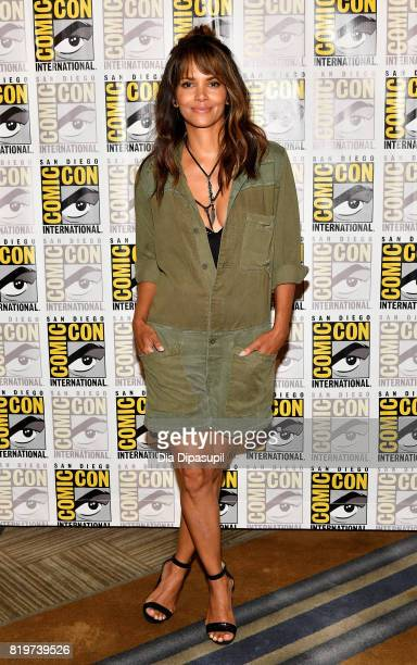 Actress Halle Berry at the 'Kingsman The Secret Service' press line at Hilton Bayfront during ComicCon International 2017 on July 20 2017 in San...