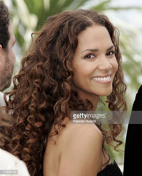 US actress Halle Berry attends a photocall promoting the film 'XMen 3 The Last Stand' at the Palais des Festivals during the 59th International...