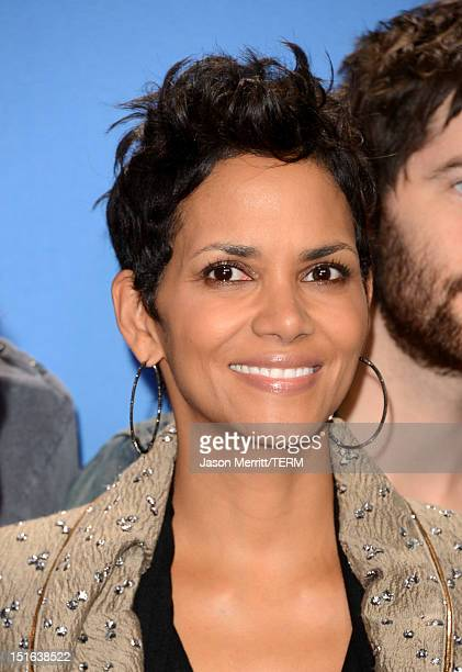 Actress Halle Berry attends Cloud Atlas Photo Call during the 2012 Toronto International Film Festival at TIFF Bell Lightbox on September 9 2012 in...