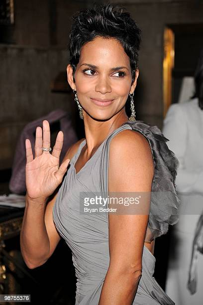 Actress Halle Berry attends DKMS' 4th Annual Gala Linked Against Leukemia at Cipriani 42nd Street on April 29 2010 in New York City