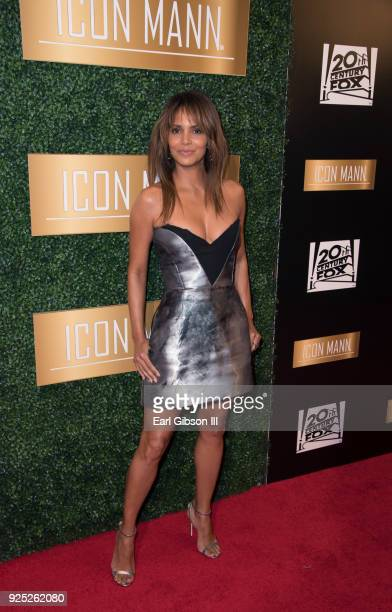 Actress Halle Berry attends ICON MANN''s 6th Annual PreOscar Dinner at the Beverly Wilshire Four Seasons Hotel on February 27 2018 in Beverly Hills...