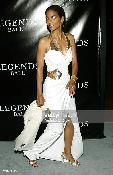 Actress Halle Berry attends Oprah Winfrey's Legends Ball at the Bacara Resort and Spa on May 14 2005 in Santa Barbara California