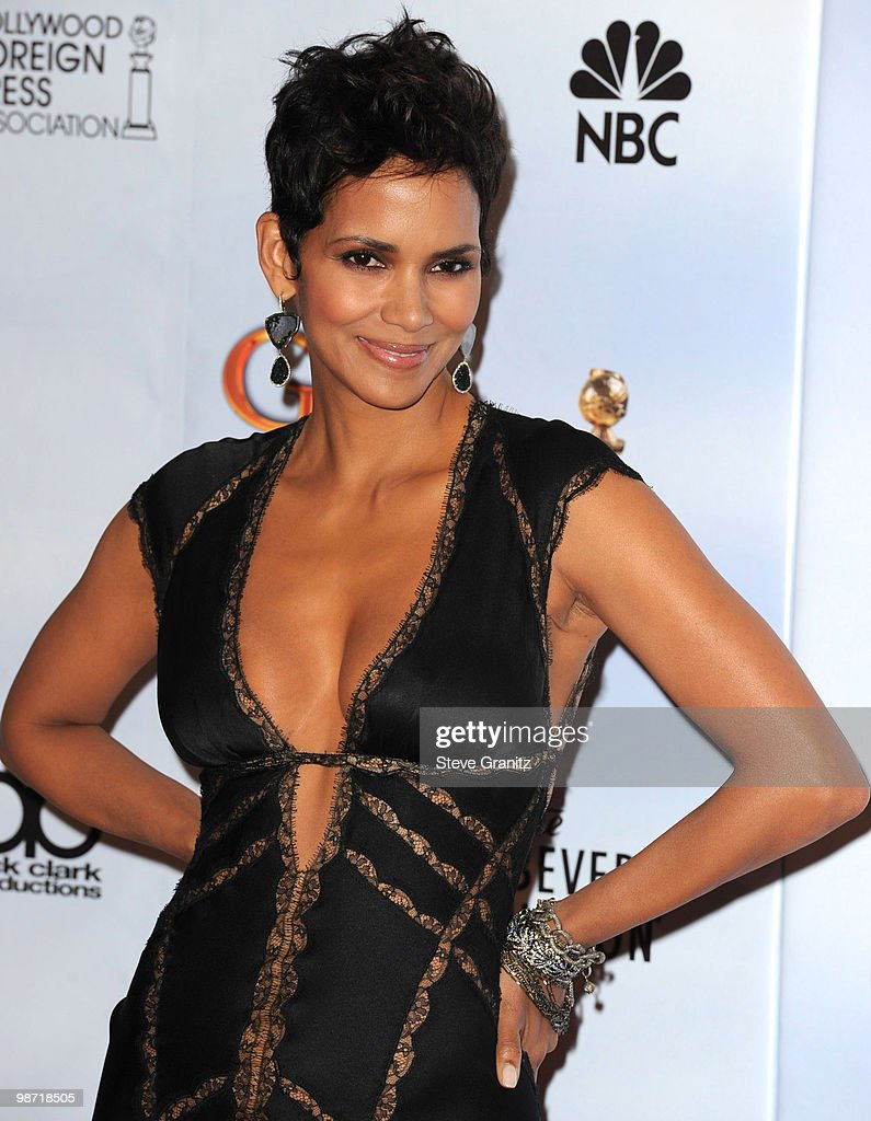 Actress Halle Berry attends the 67th Annual Golden Globes Awards at The Beverly Hilton Hotel on January 17, 2010 in Beverly Hills, California.