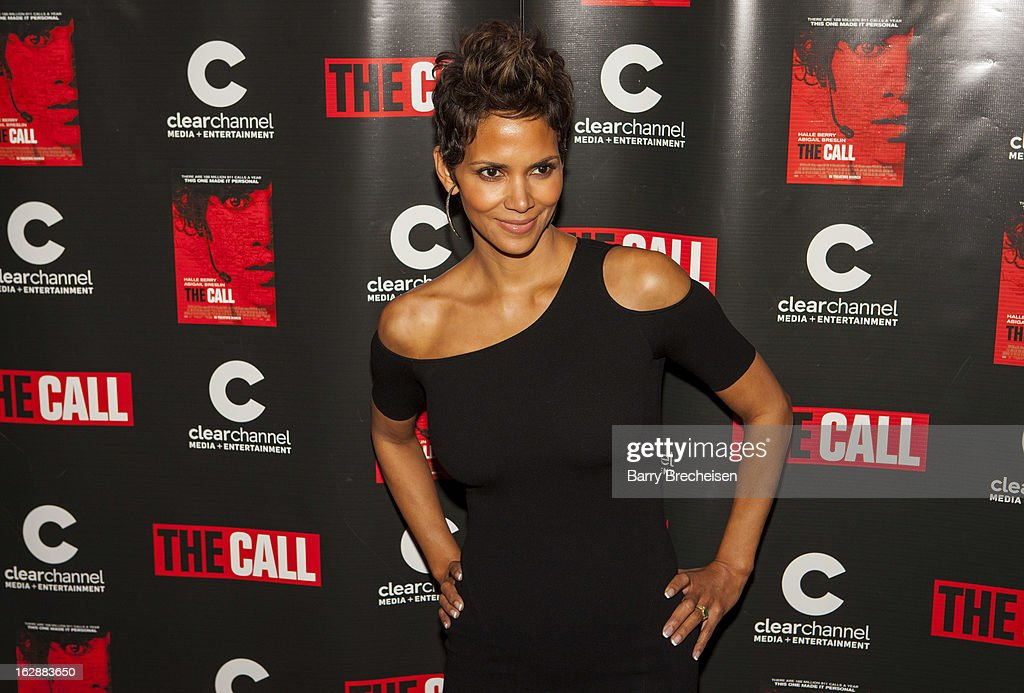 Actress Halle Berry attends 'The Call' premiere at Showplace Icon Theater on February 28, 2013 in Chicago, Illinois.