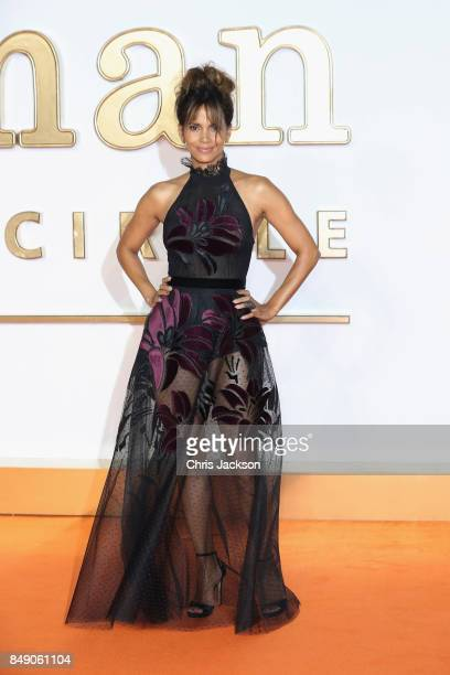 Actress Halle Berry attends the 'Kingsman The Golden Circle' World Premiere held at Odeon Leicester Square on September 18 2017 in London England