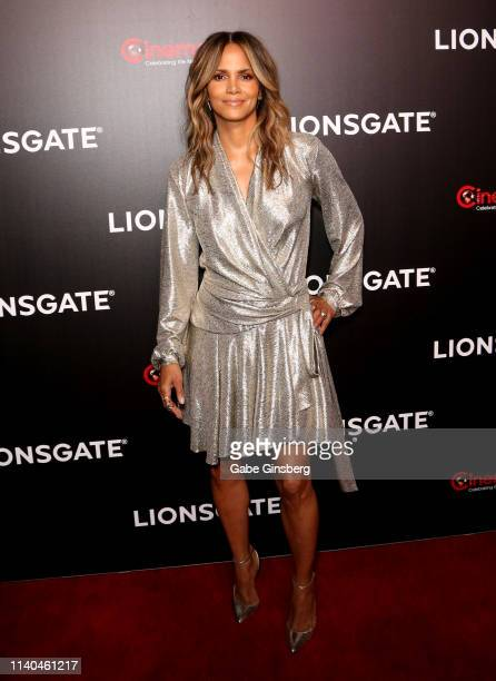 Actress Halle Berry attends the Lionsgate presentation during CinemaCon at The Colosseum at Caesars Palace on April 04, 2019 in Las Vegas, Nevada....