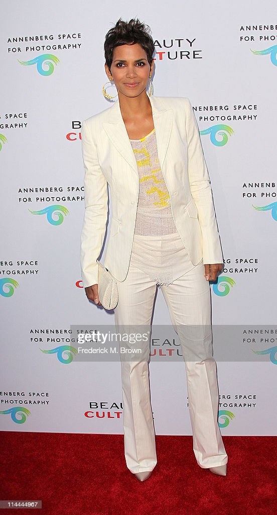Actress Halle Berry attends the Opening Night of 'Beauty Culture' at The Annenberg Space For Photography on May 19, 2011 in Century City, California.
