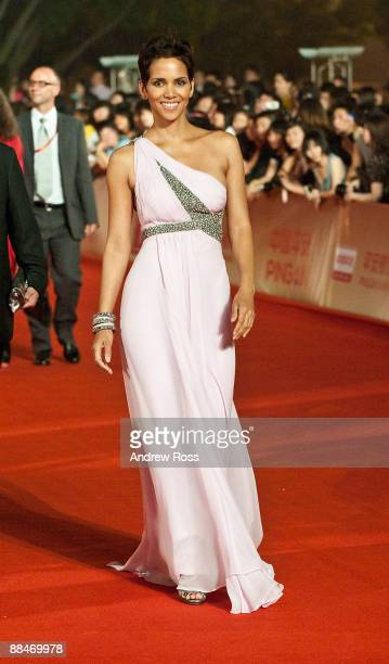 Actress Halle Berry attends the Shanghai International Film Festival on June 13 2009 in Shanghai China