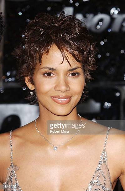 Actress Halle Berry attends the special screening of 'Die Another Day' on November 11 2002 in Los Angeles California The film opens in theaters...