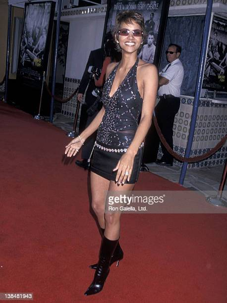 Actress Halle Berry attends the Swordfish Westwood Premiere on June 4 2001 at Mann Village Theatre in Westwood California