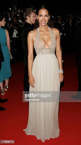 Actress Halle Berry attends the 'XMen 3 The Last Stand' premiere at the Palais des Festivals during the 59th International Cannes Film Festival May...
