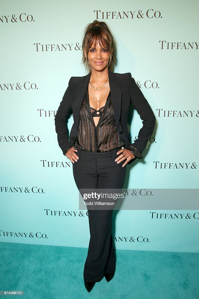 Actress Halle Berry attends Tiffany & Co.'s unveiling of the newly renovated Beverly Hills store and debut of 2016 Tiffany masterpieces at Tiffany & Co. on October 13, 2016 in Beverly Hills, California.