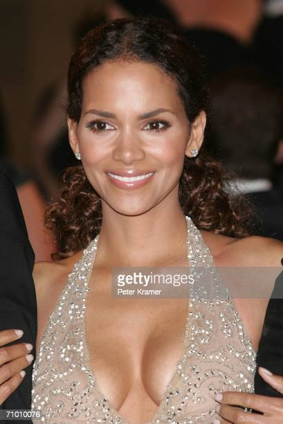 Actress Halle Berry photographed after the 'XMen 3 The Last Stand' premiere at the Palais des Festivals during the 59th International Cannes Film...