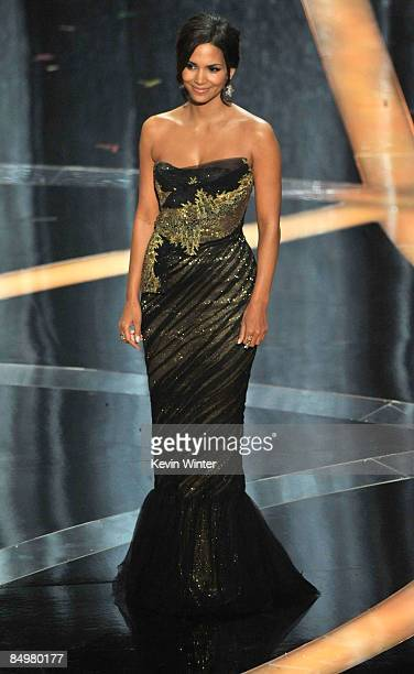 Actress Halle Berry speaks on stage during the 81st Annual Academy Awards held at Kodak Theatre on February 22 2009 in Los Angeles California