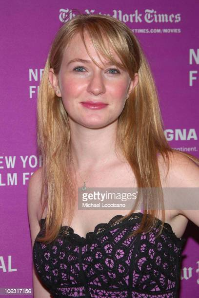 Actress Halley Feiffer arrives to the New York Premiere Of 'Margot At The Wedding' in The Rose Theatre in New York City on October 7 2007