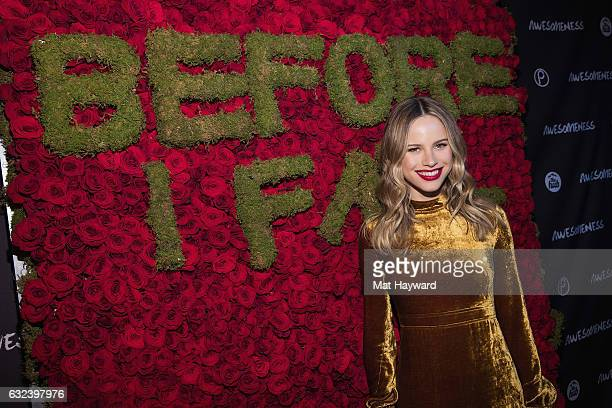Actress Halston Sage attends night two of Snow Fest featuring Tiesto at Park City Live on January 21 2017 in Park City Utah
