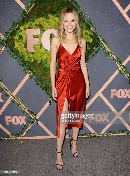 Actress Halston Sage attends the FOX Fall Party at Catch LA on September 25 2017 in West Hollywood California