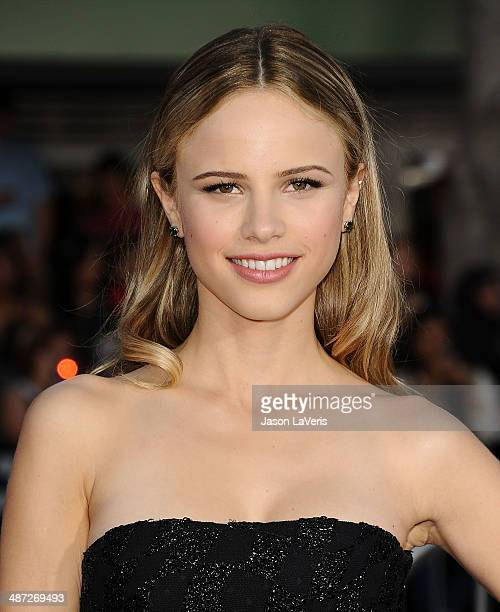 Actress Halston Sage attends the premiere of Neighbors at Regency Village Theatre on April 28 2014 in Westwood California