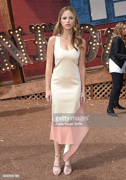 Actress Halston Sage attends the premiere of Sony Entertainment's 'Goosebumps' at the Regency Village Theater on October 4 2015 in Westwood California