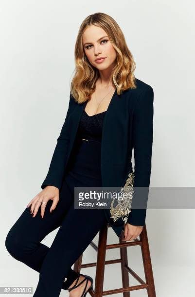 Actress Halston Sage from FOX's 'The Orville' poses for a portrait during Comic-Con 2017 at Hard Rock Hotel San Diego on July 22, 2017 in San Diego,...